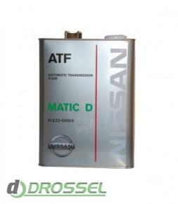 Оригинальная жидкость Nissan ATF Matic Fluid D (Japan)