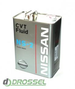 Оригинальная жидкость для бесступенчатой КП Nissan CVT NS-2 (Jap