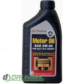 Оригинальное моторное масло Toyota SM 5w30 00279-1QT5W_2