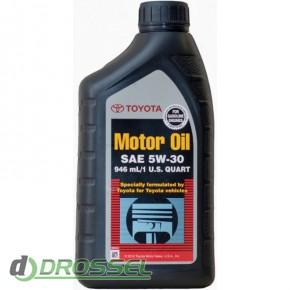 Оригинальное моторное масло Toyota SM 5w30 00279-1QT5W_3