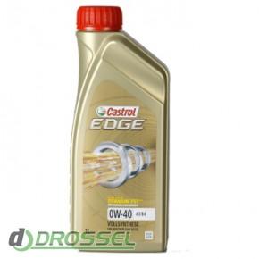 Моторное масло Castrol EDGE 0w40 A3/B4 Titanium FST 1л