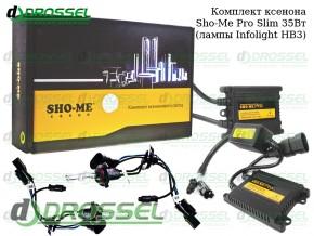 Комплект ксенона Sho-Me Pro slim HB3 (9005)