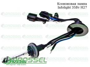 Ксеноновая лампа Infolight H27 35Вт