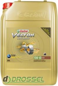 Моторное масло Castrol Vecton Long Drain 10W40 20л