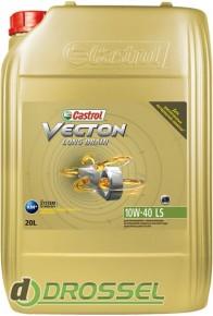 Castrol Vecton Long Drain 10W-40 LS 20л