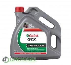 Castrol GTX 10w40 A3/B4_4л