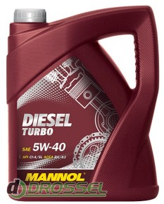 Mannol Diesel Turbo 5w40 5л