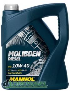 Mannol Molibden Diesel 10W40 5л