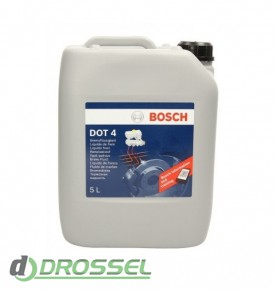 Тормозная жидкость Bosch DOT 4_5л