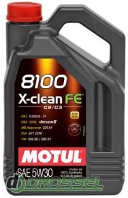 Motul 8100 X-clean FE 5w30 4л