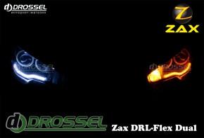 Гибкие дневные ходовые огни Zax DRL-Flex Dual с поворотом