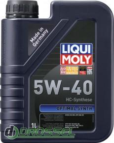 Liqui Moly Optimal Synth 5W-40 1л