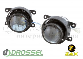 Штатные биксеноновые линзы ПТФ Zax Bi-Fog SP 002 Dacia, Renault,
