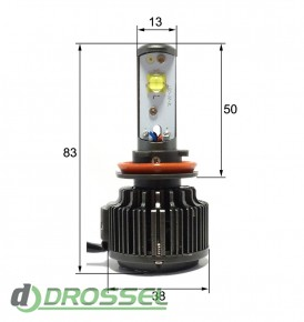Светодиодная (LED) лампа Sho-Me G1.1 H11 30W_9