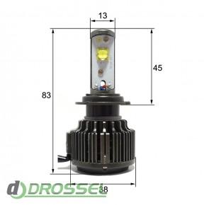 Светодиодная (LED) лампа Sho-Me G1.1 H7 30W_8