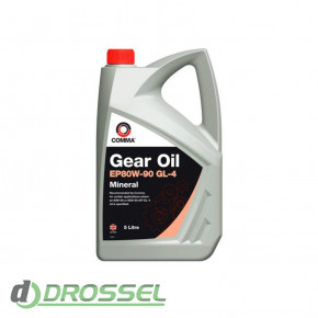 Масло Comma EP 80w90 Gear Oil GL4