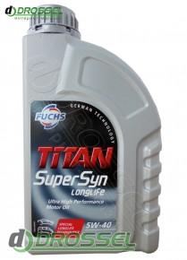 Titan Supersyn Longlife 5W-40 1l