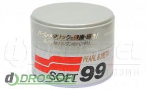 soft99 Pearl&Metalik Soft Wax 00027