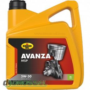 Kroon Oil Avanza MSP 5w-30 4l