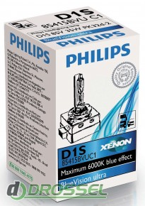 Ксеноновая лампа Philips D1S BlueVision ultra 85415 BVU C1