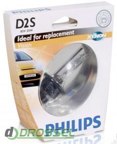 Ксеноновая лампа Philips D2S Vision 85122 VI S1