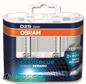 Osram D2S Xenarc Cool Blue Intense 66240 CBI Duabox