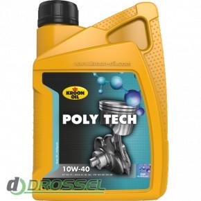 Kroon Oil Poly Tech 10w-40 1l