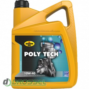 Kroon Oil Poly Tech 10w-40 5l