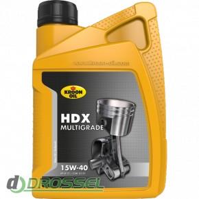 Kroon Oil HDX 15w-40 1l