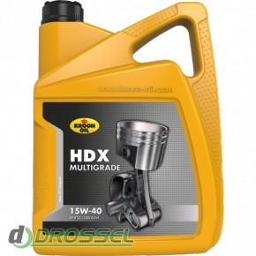 Kroon Oil HDX 15w-40 5l