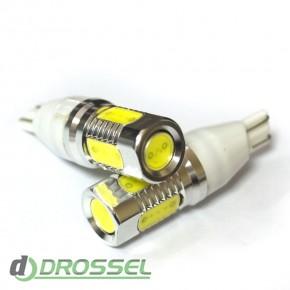 Светодиодная лампа LED T15 (W16W) HIGH POWER 5PCS 6.0W White (Бе