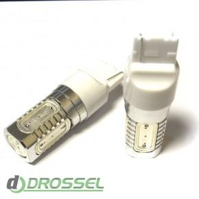 Светодиодная лампа LED T20 (W21W 7440 W3х16d) HIGH POWER 5PCS 7.