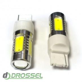 Светодиодная лампа LED T20 (W21W 7440 W3х16d) HIGH POWER 5PCS Le