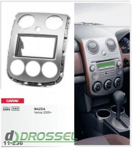 Переходная рамка Carav 11-236 Mazda Verisa 2005+, 2-DIN