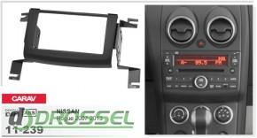 Переходная рамка Carav 11-239 Nissan Rogue 2007-2013, 2-DIN
