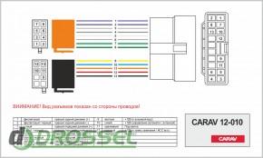Переходник / адаптер ISO Carav 12-010 для Honda All Models 1995-
