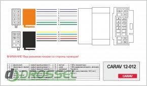 Переходник / адаптер ISO Carav 12-012 для Honda 1999+ / Acura 19
