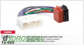 Переходник / адаптер ISO Carav 12-005 для Ssang Yong 2005+ / Dae
