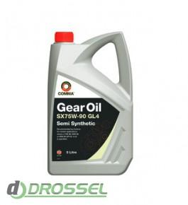 Трансмиссионное масло Comma SX75w90 GEAR OIL GL4_2
