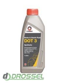 Тормозная жидкость Comma DOT 3 Synthetic Brake Fluid