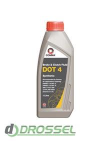 Тормозная жидкость Comma DOT 4 Synthetic Brake Fluid 1л