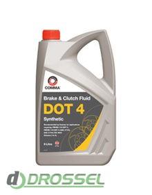 Тормозная жидкость Comma DOT 4 Synthetic Brake Fluid 5л