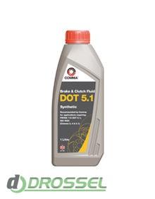 Тормозная жидкость Comma DOT 5.1 Synthetic Brake Fluid