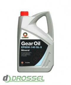 Трансмиссионное масло Comma EP 85w140 Gear Oil GL5