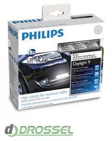 Дневные ходовые огни Philips LED DayLight 9 12831WLEDX1_4