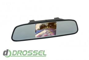 Зеркало заднего вида с монитором Phantom RM-43