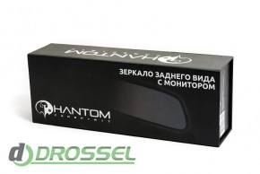 Зеркало заднего вида с монитором Phantom RM-43_5