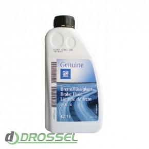 Оригинальная тормозная жидкость GM DOT 4 (1942058)