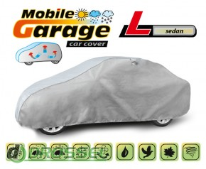 Тент для автомобиля Mobile Garage L Sedan (серый цвет)