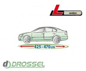 Тент для автомобиля Mobile Garage L Sedan (серый цвет)_2